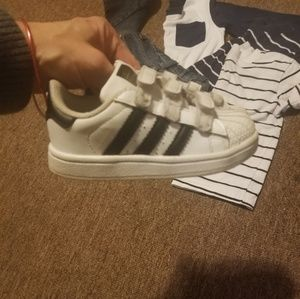 adidas Shoes - SOLD Boys toddler size 6 shell toe Adidas